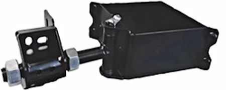 """Picture of 6"""" MS Clamp-On Embassy Hinge"""