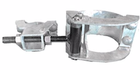 """Picture of 2 3/8"""" x 1 3/8""""-1 5/8"""" Hot-Dipped Galvanized Hinge"""