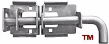 "Picture of Embassy 1"" MS Heavy Duty Slide Bolt Latch (Galvanized)"