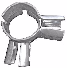 """Picture of 4"""" X 1 5/8"""" Heavy Corner End Rail Clamps"""