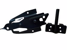 """Picture of SS Dual Lockable Economy Latch with 1/2"""" Bar"""