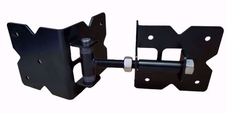"""Picture of 4"""" MS Commercial Hinge"""