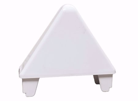 """Picture of 7/8"""" x 3"""" Pointed Cap (Spade) Glue On"""