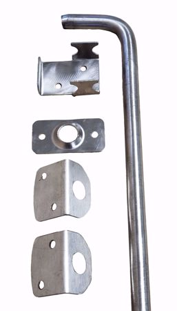"""Picture of 5/8"""" X 12"""" SS Drop Rods (Non-Painted)"""
