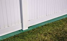 Picture of 6' Weed Barrier Fence and Post Saver