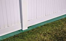 Picture of 8' Weed Barrier Fence and Post Saver